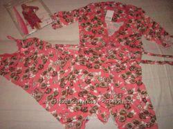 комплект ТМ Caroline сорочка и халат Турция отличное качество в наличии Мка