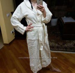 махровые халаты натуральный хлопок от 4х до 12ти лет.