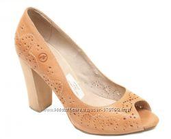 Оригинальные туфли босоножки каблук BRONX
