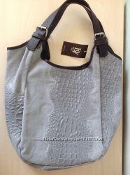 Сумка Diva&acutes Bag Moira серого цвета