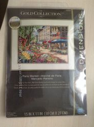 Набор для вышивки Dimensions Paris Market