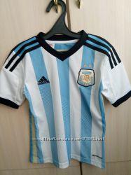 Футбольная форма оригинал Адидас&Аргентина&7-8 лет