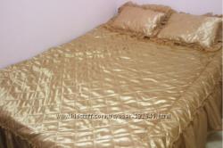 Покрывала ТЕП Гламур 2 декоративные подушки в наборе. Реальные фото