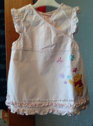 Легкие хлопковые платьица Disney baby для девочки