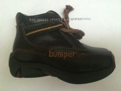 Демисезонные кожаные ботиночки Bumper 20 размер