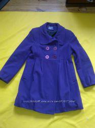 Пальто для беременных фиолетовое