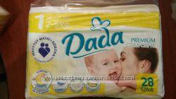 Подгузники Dada Дада размер 1 для самых маленьких Киев Оболонь