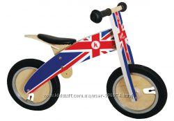 Беговел Kiddi Moto Kurve деревянный,
