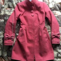 Красивое демисезонное пальто