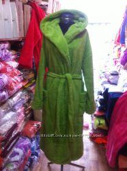 Махровый халат для пышных дам