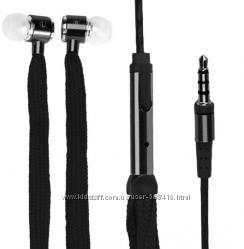 Наушники гарнитура с микрофоном на разьём 3, 5 мм