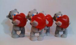 Мыло ручной работы Мишка Тедди с сердцем