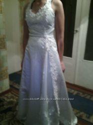 плаття атласне