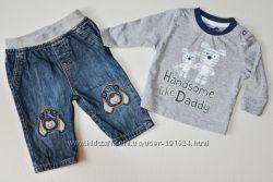 Одежда для мальчика 0-6 месяцев ч1