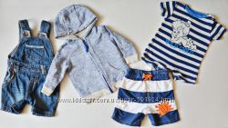 Одежда для мальчика 0-6 месяцев ч2