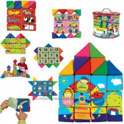 Набор активных развивающих мягких кубиков K&acutes Kids