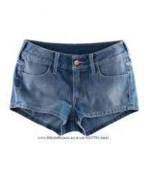 Шорты джинсовые Н&М р. 36 и 38 евр