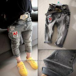 Джинсы бриджи джинсовые для модняшки