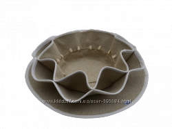 Оригинальная текстильная тарелка для Пасхи и Кулича