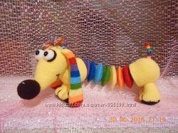 Игрушки, куклы вязаные - оригинальный и эксклюзивный подарок детям и взрос.