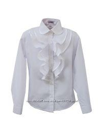 Красивые блузки для девочек, школа