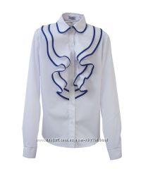 Блузки c воланами для девочек