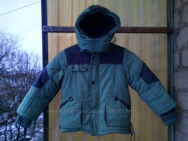 куртка Ohccmith р. 98-3г. шапка в подарок