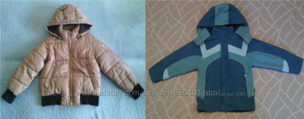 куртка Geox respira 6лет и термо куртка Одягайко р. 116