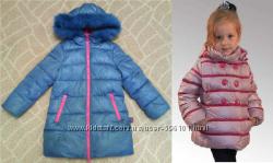 куртка-пуховик Benetton р. 100-110 и Snowimage р. 110