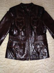 Куртка кожаная женская 3XL