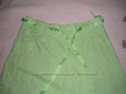 Фирменные юбки джинсовые и льняные дешево