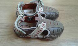 Закрытые кожаные босоножки сандалии Geox на мальчика р. 24