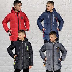 Зимняя куртка 134,140,146,152 Флисовая Подкладка Теплая