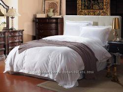 Белое постельное белье премиум, из хлопка, эвкалипта, ТМЛюкс-Постель