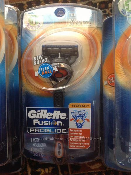 Станок для бритья Gillette Fusion Proglide Flexball плюс один картридж, США