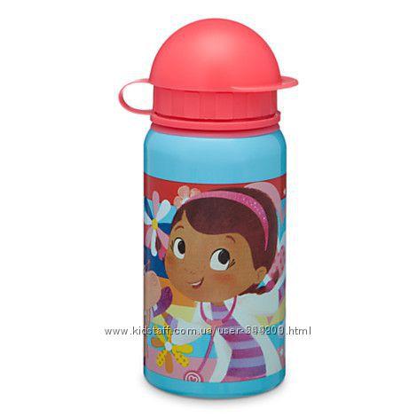 Бутылочки для воды Дисней Доктор плюшева, оригинал.
