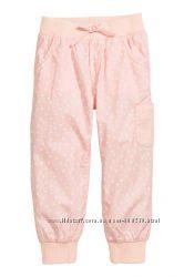 Котонові штани джоггери H&M