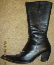 3ede4b605 Женские зимние кожаные сапоги на натуральном меху р. 37, 95 грн ...