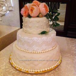 Весільні, святкові, дитячі Домашні торти на замовлення, Вінниця