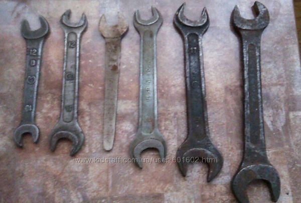 Продам советские рожковые ключи