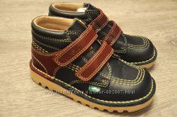 Кожаные ботинки Kickers 24, 25размеры