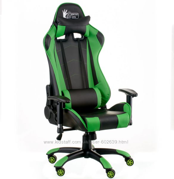 Кресло Special4You ExtremeRace blackgreen