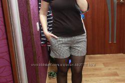 Женские стильные хб шорты Oodji OGGI 170-38р, состояние идеал