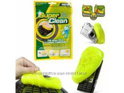 Гель для чистки клавиатуры, очиститель - Super Clean Magic Cleaner Gel
