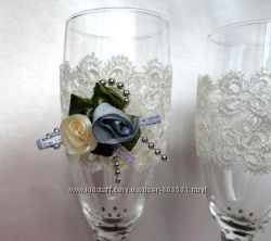 Обалденные свадебные бокалы
