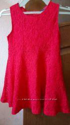 нарядное кружевное платье на девочку