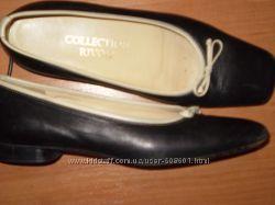 кожаные балетки ф. Collection Rivoli размер 36. 5 - 24. 5 см