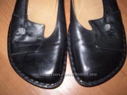 кожаные балетки ф Shoe Colour Италия размер 37 - 24. 7 см