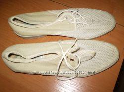 туфли  из  натурального  материала  Франция  размер  41  -  25  см  длина