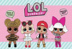 L. O. L. Surprise Glitter, Confetti POP, Lil sisters, Pets 100 Оригинал MGA